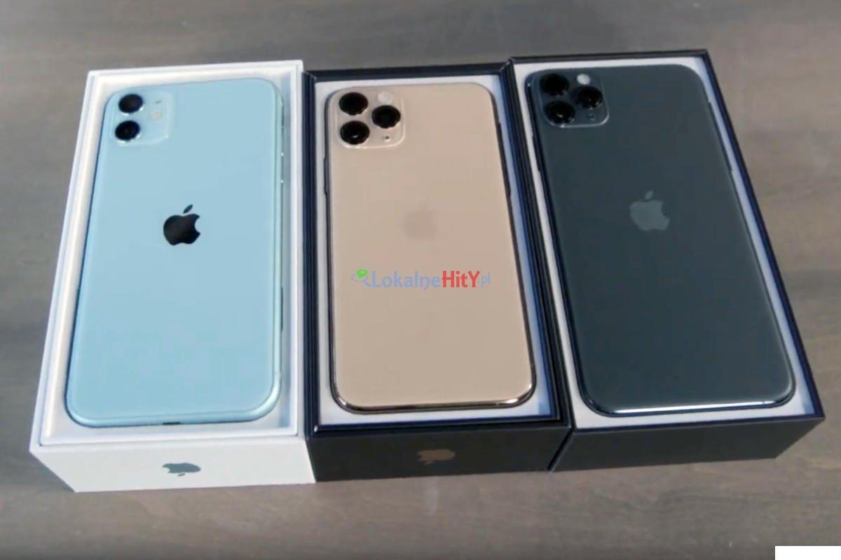 Oferta na Apple iPhone 11, 11 Pro i 11 Pro Max w sprzedaży w cenie hurtowej.