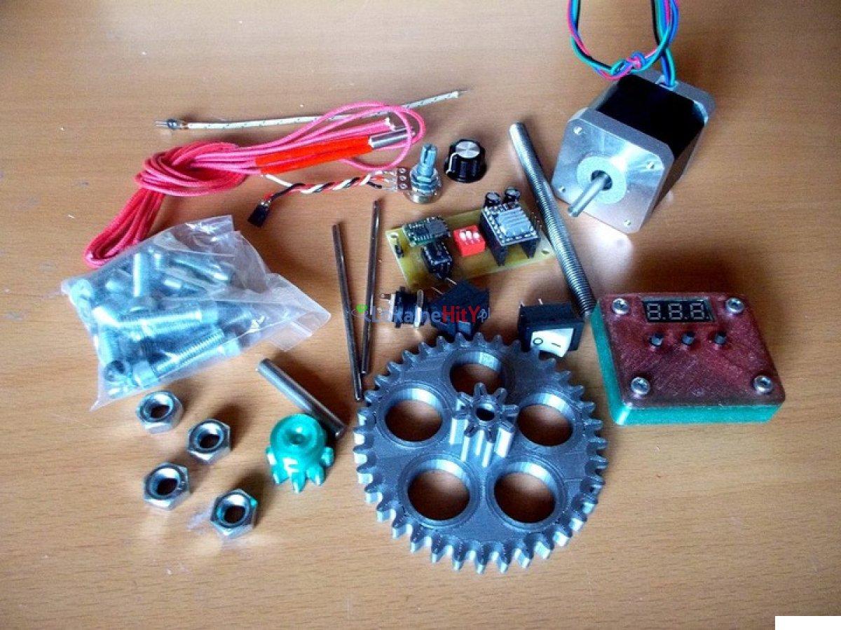 Maszynka dla produkcji filamentu do druku 3D
