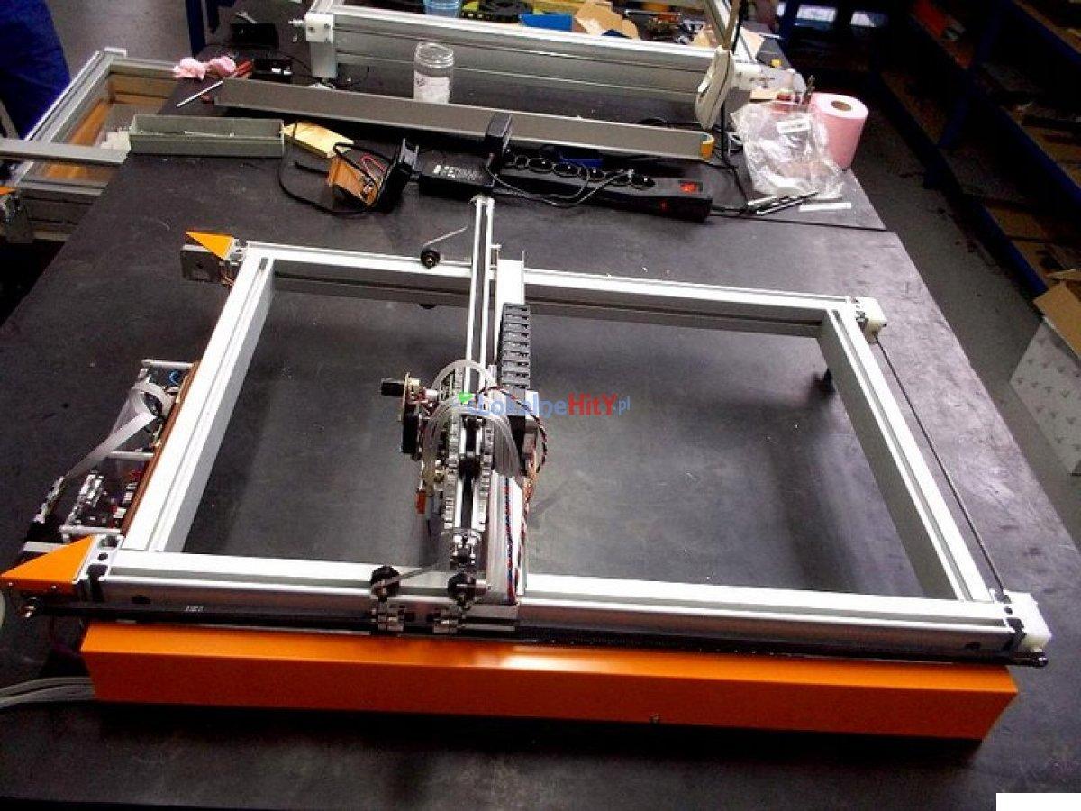 Ploter laserowy CNC 60x40cm z laserem 6,5W
