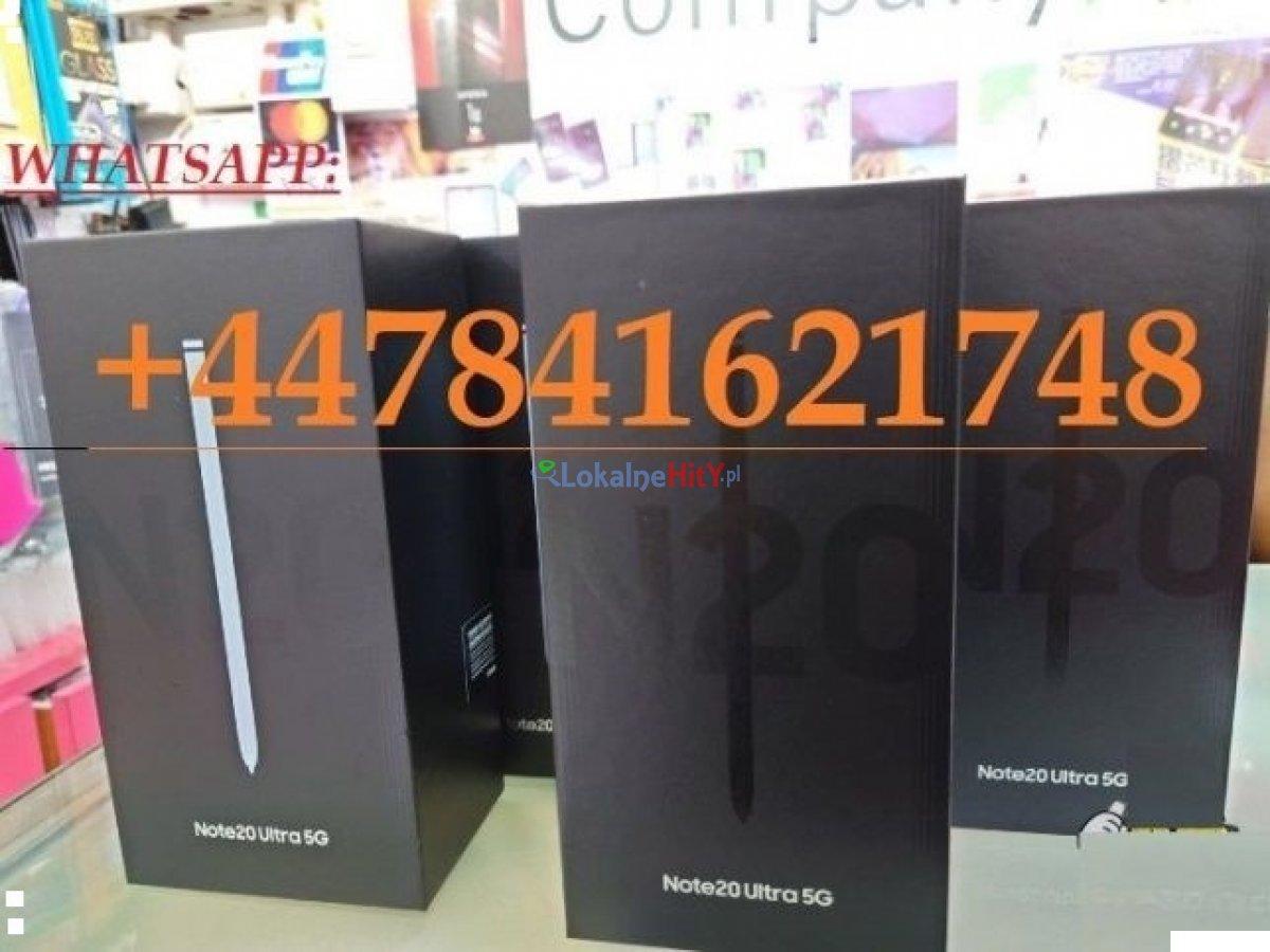 Samsung Galaxy S20 Ultra 5G.€500 EUR, Samsung Galaxy Note 20 Ultra 5G