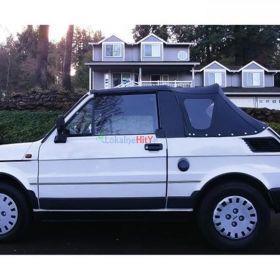 okazja stan nowy fiat 126 cabrio Bosmal