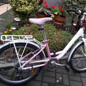 Rower 24 EUROBIKE - rowerek aluminiowy - damka