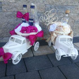Autko na ślub prezent upominek para młoda