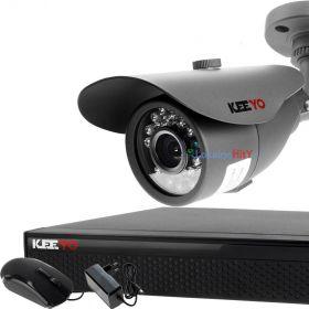 Zestaw monitoringu 1 kamera: Rejestrator LV-XVR44N, 1x Kamera LV-AL20MT