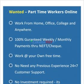 We are Hiring-Earn Rs.15000/- per month - simple copy paste job