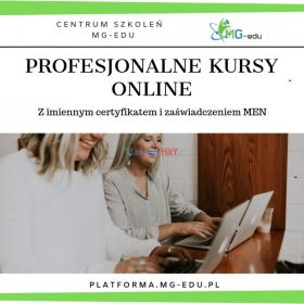 Specjalista ds szkoleń - kurs przez internet