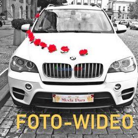 filmowanie  i  zdjęcia   ślubne