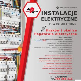 Elektryk Wiesław oferuje usługi elektryczne - Kraków i okolice