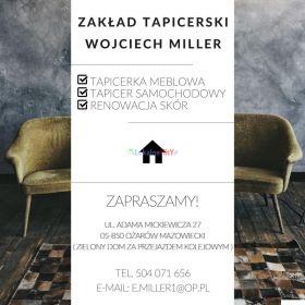 Doświadczony tapicer - do usług! w Warszawie