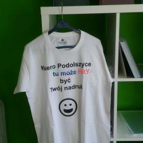 Nadruki na koszulki - projekt, wydruk